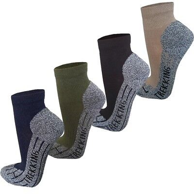 Baumwolle Socken Wandern (Coolmax® Trekkingsocken (kurz) Funktionssocken Sportsocken Wandersocken NEU)