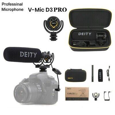 Deity V-Mic D3 Pro Broadcast Super-Cardioid Shotgun Microphone for DSLR Phone