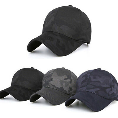 Men s Women s Outdoor Sports Sunshade Baseball Cap Camouflage Hat ... 2cbdaa5e94a