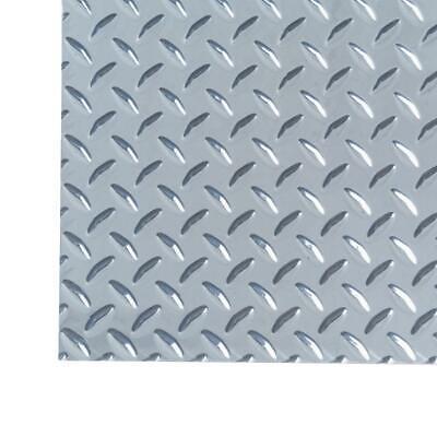 Sheet Metal Diamond Tread Aluminum 3 Ft X 3 Ft Heavy Weight Protection Traction