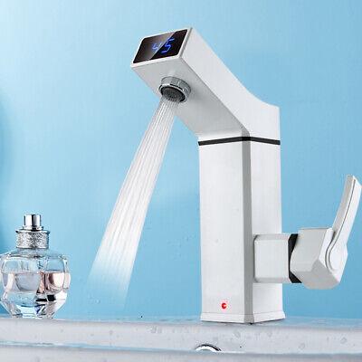 Calentador de Agua Grifo Calefacción Eléctrico Caliente Instantáneo Cocina Ducha