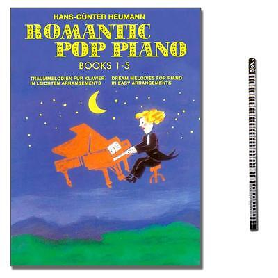 Romantic Pop Piano Collection 1-5 / mit MusikBleistift - BOE7532 - 9783865435996