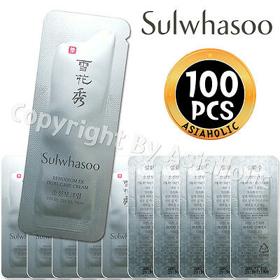 Sulwhasoo Renodigm EX Dual Care Cream 1ml x 100pcs (100ml) Sample AMORE PACIFIC