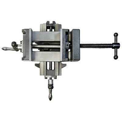 3 X-y Compound Cross Over Slide Sliding Drill Press Vise Milling Drilling 2 Way