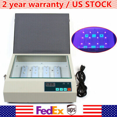 21x26cm 110v Led Uv Exposure Unit Screen Printing Plate Making Silk Screening Us