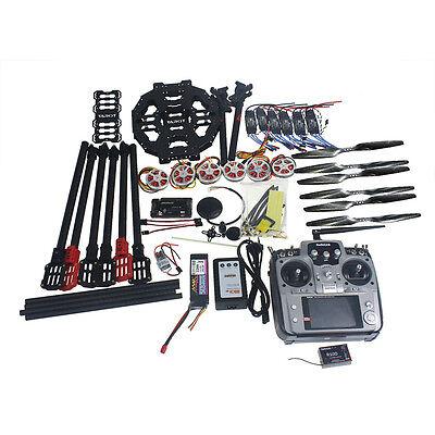 Full Set  DIY Drone Kit Tarot FY690S TL68C01 Frame AT10 Disk Motor APM GPS Drone