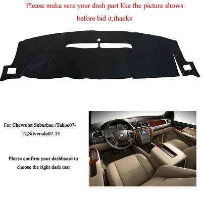 US Car Dash Mat Cover For Chevrolet Tahoe/Suburban 07-12 / Silverado LTZ 07-13