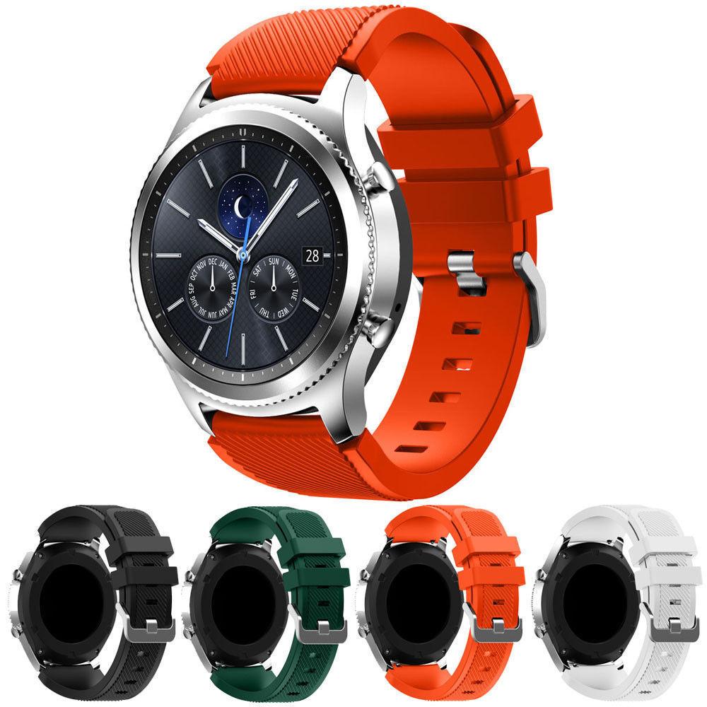 sport rubber silicone watch wrist band strap