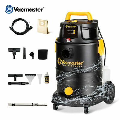 Vacmaster 8 Gallon Wet Dry Shampoo Shop Car Vacuum Carpet Cleaner 5.5peak Hp Vac