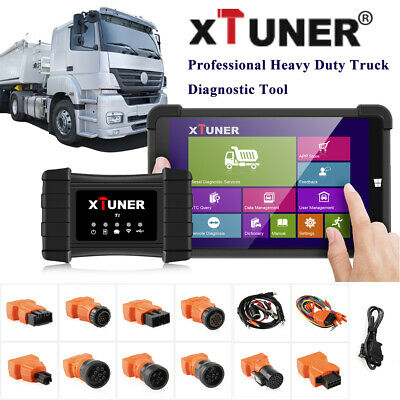 Heavy Duty Truck Diagnostic Tool For Airbag DPF ABS 8'' Win10 Tablet XTUNER T1