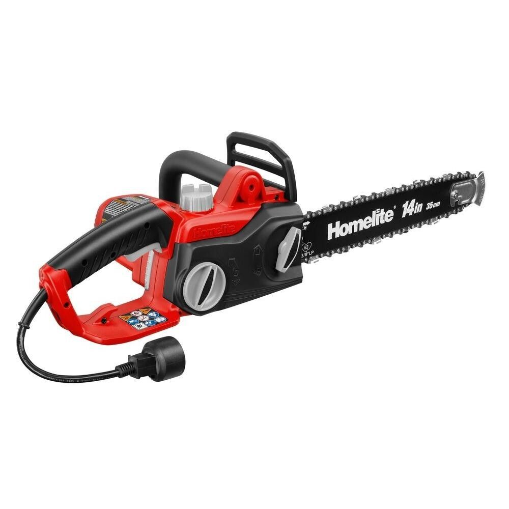 Homelite ZR43100 9.0 Amp 14 in. Electric Chain Saw