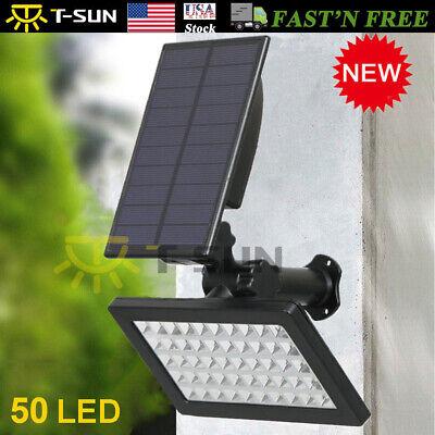 Solar Power 50-LED Spotlight Landscape Lights Outdoor Garden Pathway Lamp 960LM (Solar Landscape Spotlight)