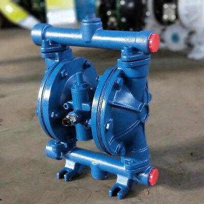 Air-Operated Double Diaphragm Pump Low Viscosity Petroleum Fluids Cast iron HOT