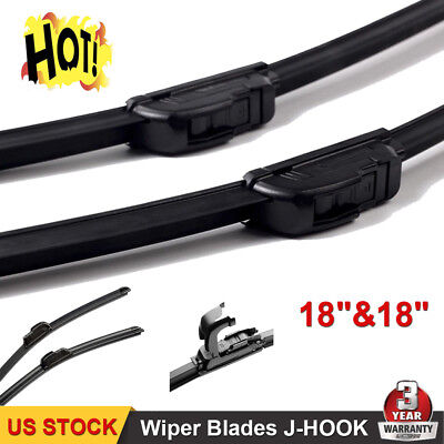 18  18 All Season Premium OEM Quality Beam Windshield Wiper Blades Set of 2