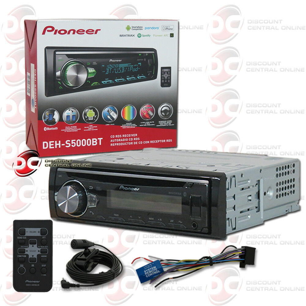 $89.99 - 2017 BRAND NEW PIONEER CAR 1DIN STEREO MP3 CD PLAYER USB AUX-IN BLUETOOTH DASH