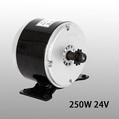 250w Electric Brushless Dc Motor 24v Permanent Magnet Brush Motor For Scooter