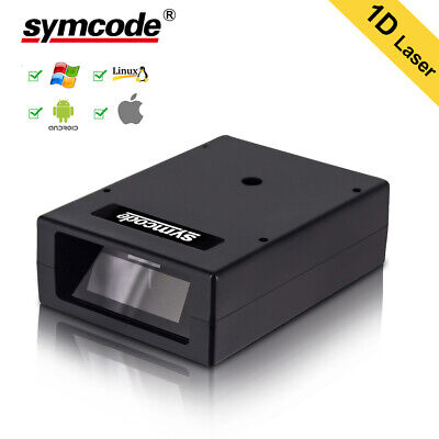 Automatic 1d Barcode Scanner Reader Usb Laser Wired Handheld Portable Automatic