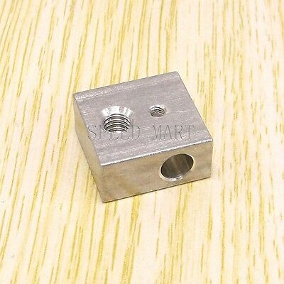 Aluminium Heater Block Assembly Extruder Hot End For Makerbot 3d Printer New