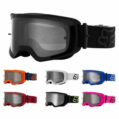 Fox Racing MX21 Main Stray Mens Motocross Clear Lexan lens Goggles