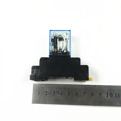 General Purpose 10a Ly2nj Dpdt Power Relay 8 Pin With Socket 1224110220230v