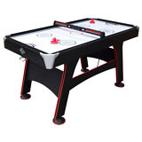 """Lancaster 66"""" Indoor Family Gameroom Air Powered Hockey Table & Accessories"""