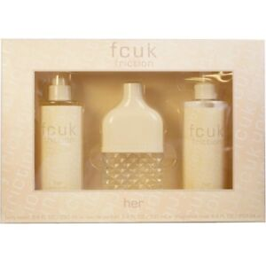 "FCUK ""friction"" woman's set + free eyelashes with purchase"