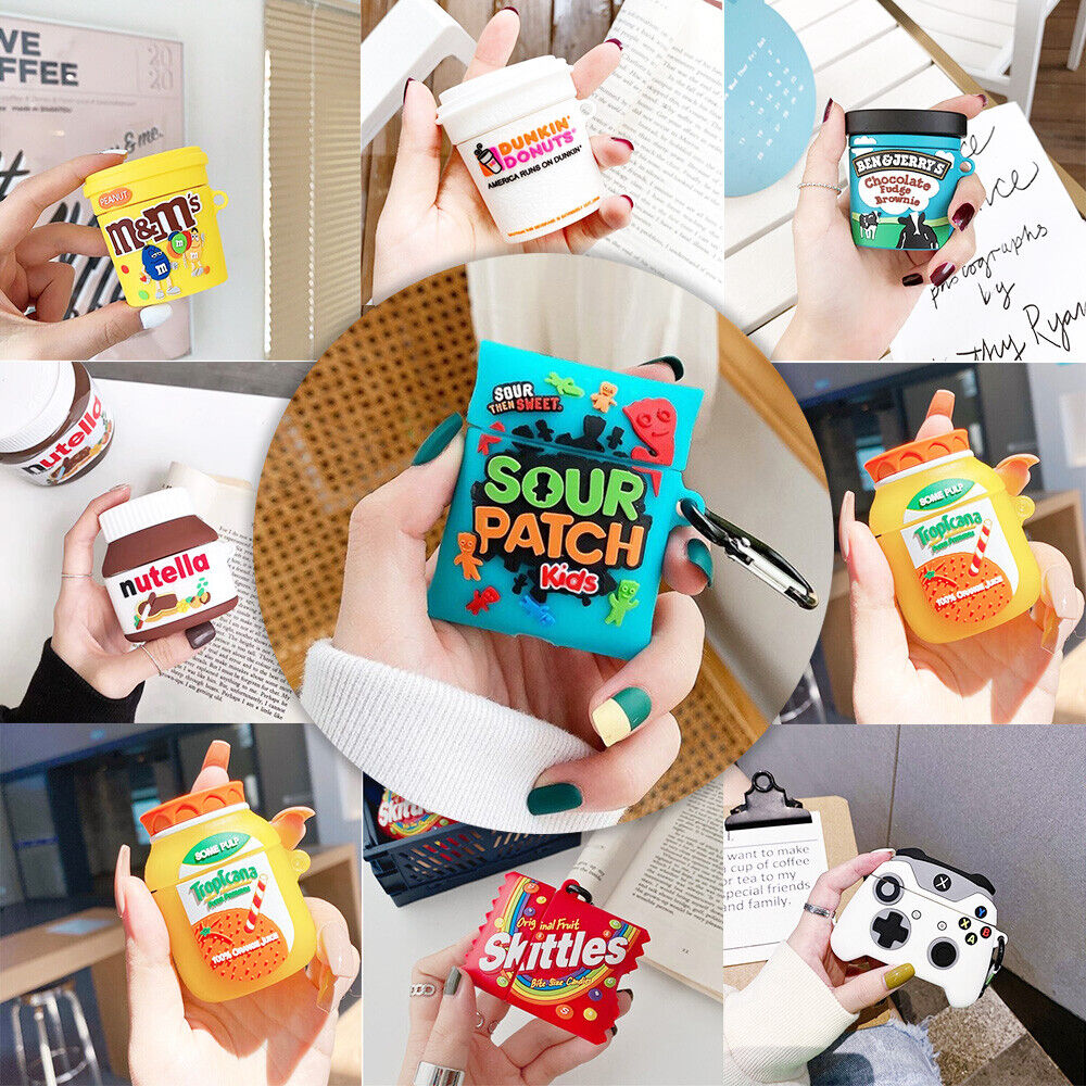 3D Cartoon Airpods Case Cute Skin Protective For Apple Airpo