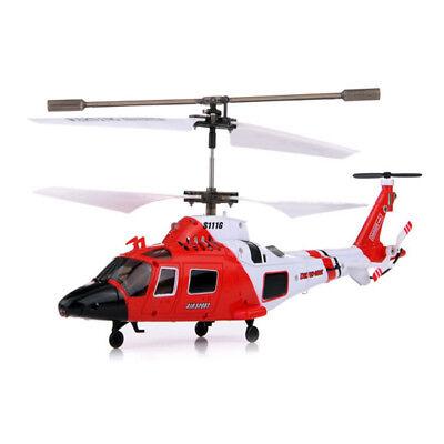 3.5Kanal RC Ferngesteuerter Hubschrauber Küstenwachen-Helikopter,Gyro-Modell,Neu