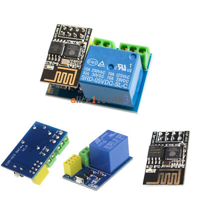 5v Wifi Relay Module Esp8266 Esp-01s For Toi App Controller Smart Home Diy