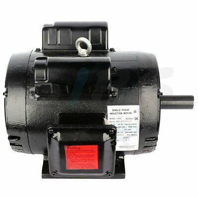 7.5hp Air Compressor Electric Motor 3450 Rpm 184t Frame 208-230v 1 Phase Odp
