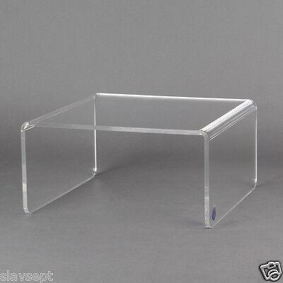 Hocker aus Acrylglas, Präsentationstisch, Aufsatz, Geschenk-Idee