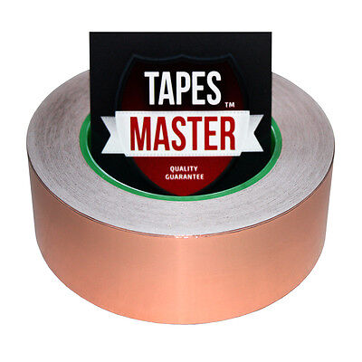Copper Foil Tape - 1.5 X 36 Yds. - Emi Conductive Adhesive Ship From Usa