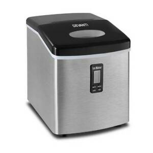 Ice Cube Maker Portable 3.2 Litre Stainless Steel 15kg/24hrs Kings Beach Caloundra Area Preview