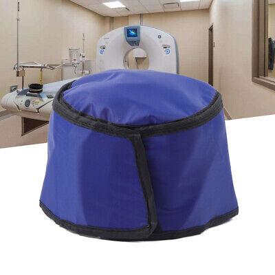 0.75mmpb Radiation Head Shield X-ray Lead Cap Ct Head Protection Lead Hat Blue