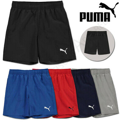 PUMA Boys Shorts Junior Football Sports Running School PE Kids Age 9 10 11 12 13