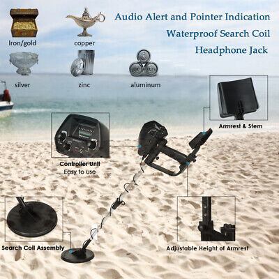KKmoon MD4030 Metal Detector Gold Digger Hunter Deep Sensitive Search Waterproof