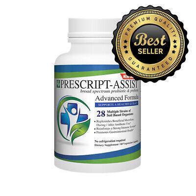 Prescript-Assist Soil-Based Probiotic 60 Count Previous Formula as Amazon ()