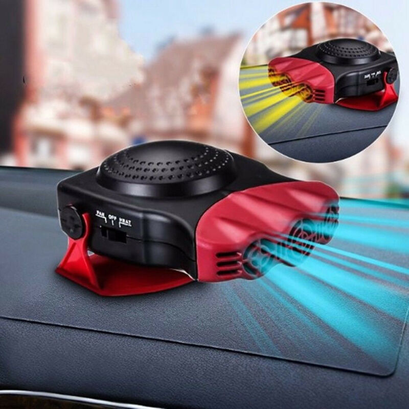 2 in 1 12V 150W Car Auto Heater Heating Cooling Fan Defroste