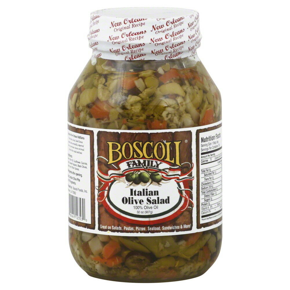 Boscoli Olive Salad 32 Oz 760661123530