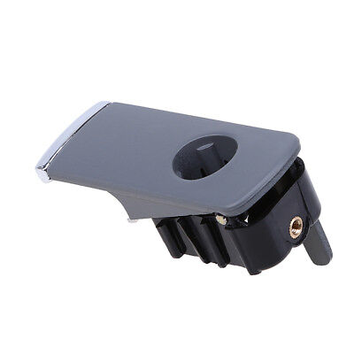 Black Left Hand Drive Glove Box Lid Handle With Hole fit for Audi A4 2001-2007