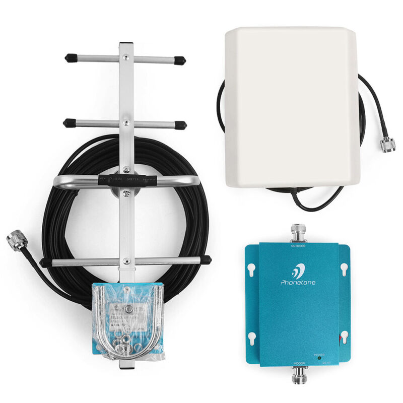 850MHz Band 5 for AT&T / Verizon Cell Phone Signal Booster 2G 3G 4G LTE Repeater