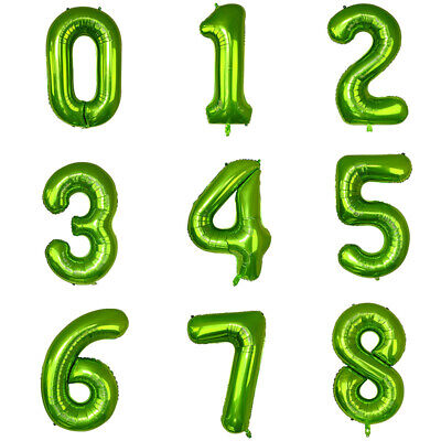 Giant Balloon Numbers (Number Balloons Giant Foil Balloon Birthday Wedding Party Decorations 40)