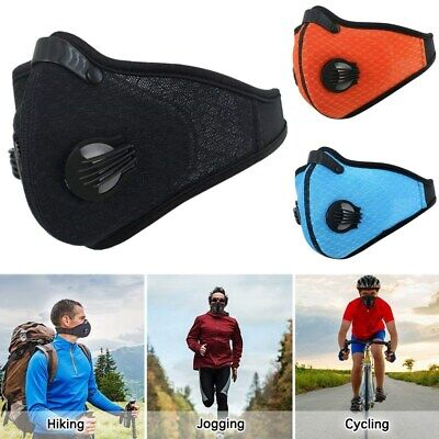 Respirator Mask Half Face Dust Proof Filtered Activated Carbon Filtration Us
