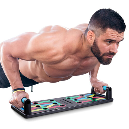 Push Up Board Push-Up Stands Body Building Training Exercise Portable Bracket Bo