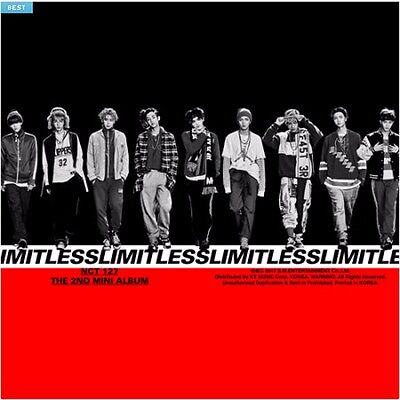 NCT 127-NCT #127 LIMITLESS 2nd Mini Album CD,Photo Book,Card Sealed