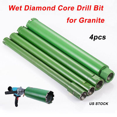 1 1.2 1.5 2 Combo Wet Diamond Core Drill Bit For Concrete Premium Grade