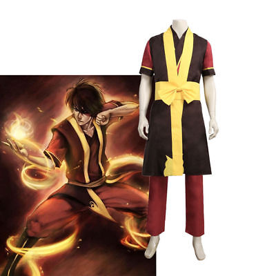 Cosplay Costume Avatar The Last Airbender Zuko Uniform Anime : (Zuko Costumes)