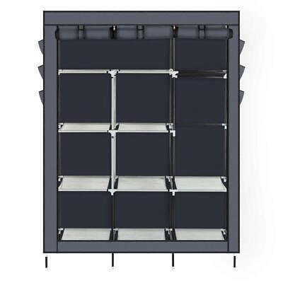 Heavy Duty Portable Closet Storage Organizer Wardrobe