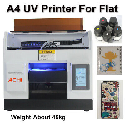 A4 Uv Printer 6 Color For Phone Case Cover Flat Metal Glass Signs 3d Embossed