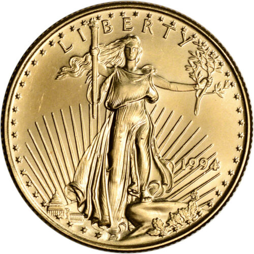 1994 American Gold Eagle 1/2 oz $25 - BU